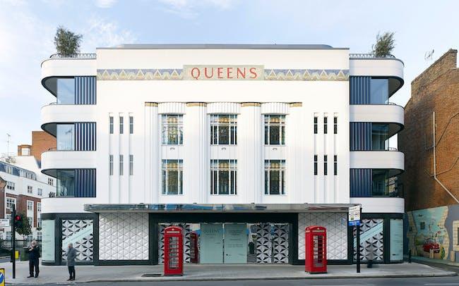 Queens Apartments, W2 by Stiff + Trevillion. Photo: Kilian O'Sullivan