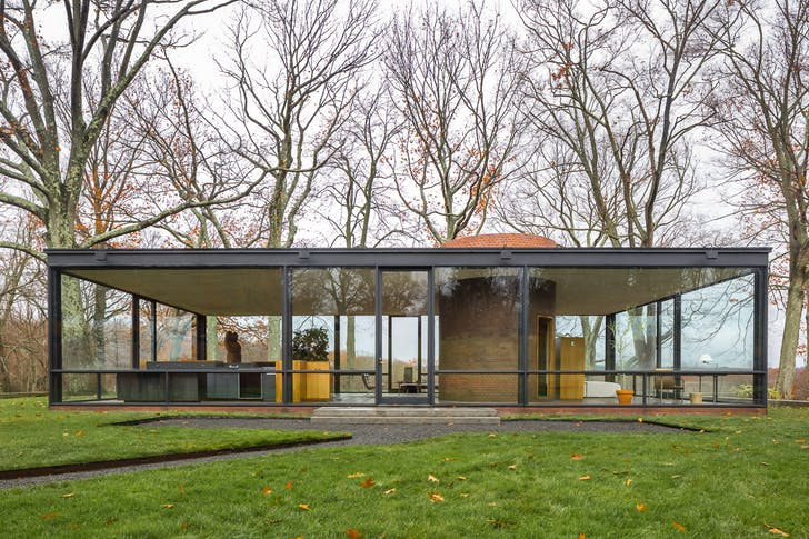 Glass House, New Canaan by Philip Johnson