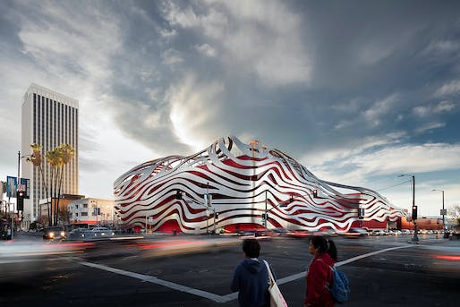 Petersen Automotive Museum by Kohn Pedersen Fox Associates. Category: Display