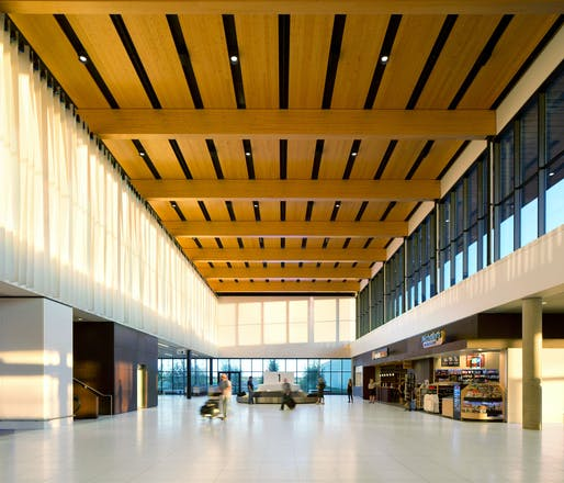 Fort McMurray International Airport by mcfarlane biggar architects + designers. Image: Ema Peter.