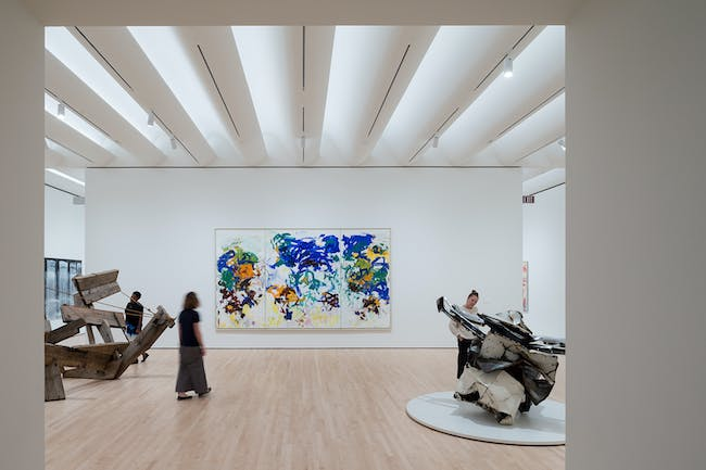 Approaching American Abstraction: The Fisher Collection exhibition; photo: © Iwan Baan, courtesy SFMOMA.