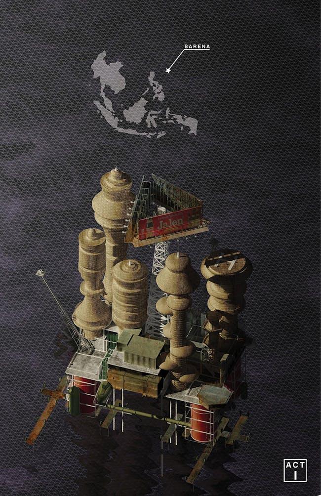 "Third Prize: ""12 Nautical Miles"" by Kobi Logendrarajah."