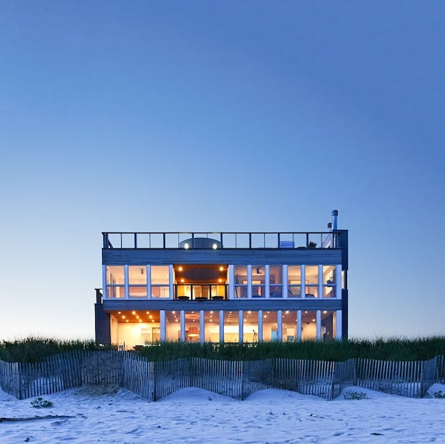 Dune Road Beach House in East Quogue, NY by Resolution: 4 Architecture