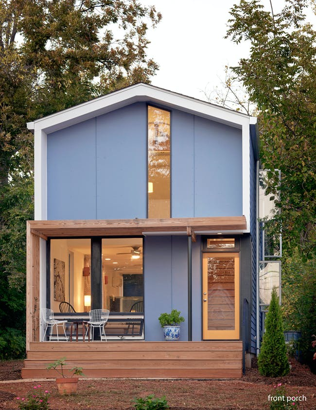 Second Jury Prize & People's Choice Second Prize: Chasen Residence, Raleigh, NC by In Situ Studios