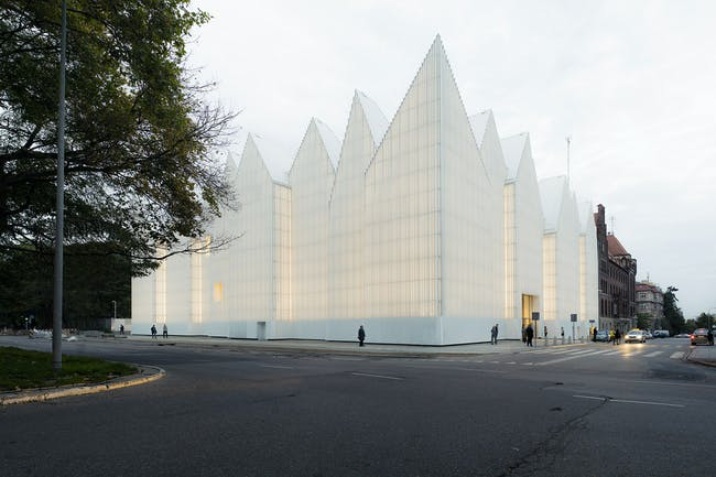 The Philharmonic Hall of Szczecin by Barozzi / Veiga. Photo © Simon Menges.