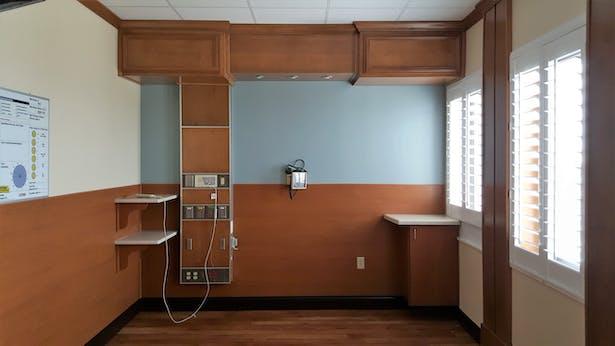 Upgraded Patient Room