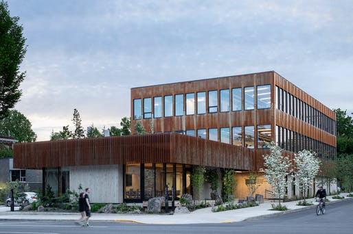 ​DESIGN FOR GOOD Winner: Oregon Conservation Center by LEVER Architecture. Photo: Jeremy Bittermann.