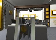 Alshrooq TV News Studio