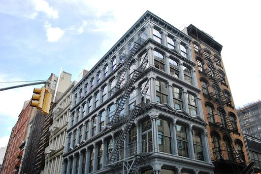 The Judd Foundation's 101 Spring Street SoHo location. Photo: Wikimedia Commons user Elisa.rolle (CC BY-SA 4.0)