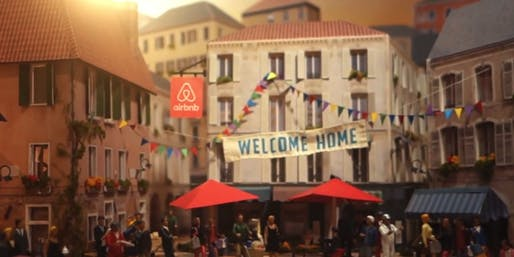 Scene from an Airbnb YouTube ad. Image via businessinsider.com