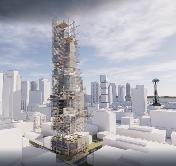 ARMATURE: A Topophilic Tower by Weber Thompson
