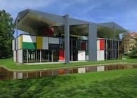 Le Corbusier Pavilion, Zurich, Switzerland