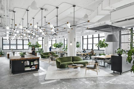 Shake Shack Headquarters in New York, NY by Michael Hsu Office of Architecture.