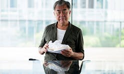 Kengo Kuma steps into shoe design with ASICS