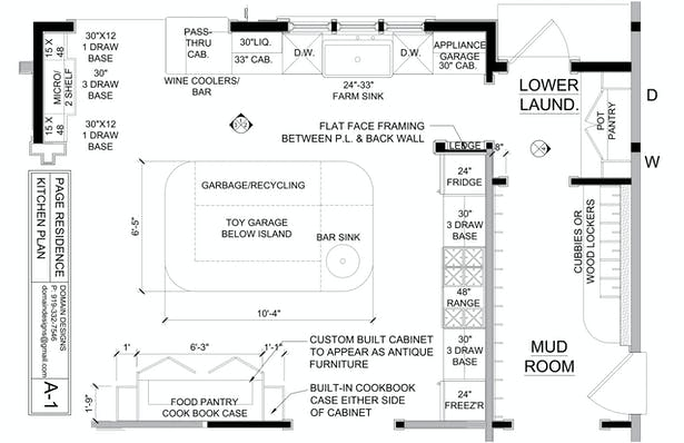 EXPANDED KITCHEN PLAN