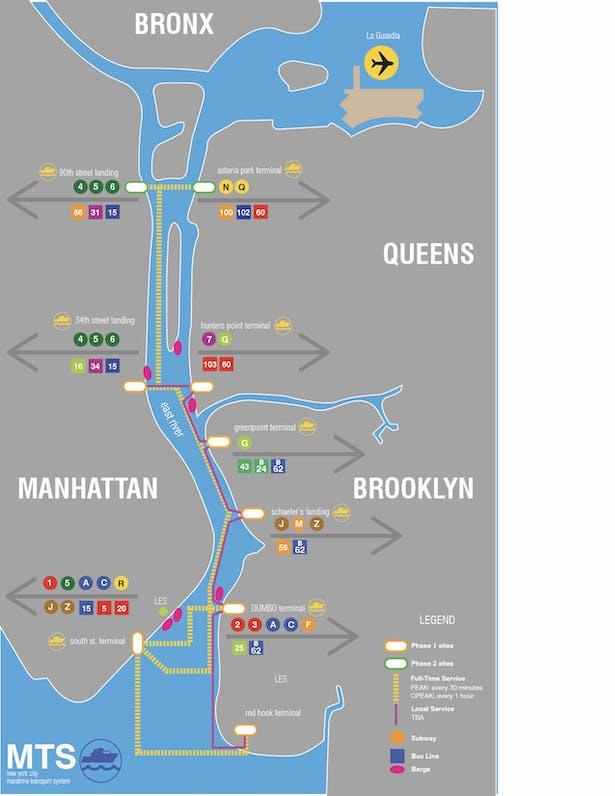 Aqua+Scape _ New York City Maritime Transit Service   Nisha ... on hudson river, upper east side, hell gate bridge, brooklyn heights, battery park, williamsburg bridge, manhattan bridge, map of hudson river nyc, long island sound, harlem river, rikers island, map of manhattan, hell gate, triborough bridge, map of upper east side nyc, queensboro bridge, rivers manhattan nyc, map of east village nyc, north brother island, east river park nyc, map of new york city neighborhoods, roosevelt island, south brother island, the narrows, throgs neck bridge, united nations headquarters,