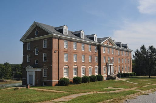 Six HBCUs have closed in the last 20 years, imperiling key sites of historical and social significance. Shown: St. Paul's College in Lawrenceville, Virgina, which closed in 2013. Image courtesy of Wikimedia user Jerrye & Roy Klotz, MD.