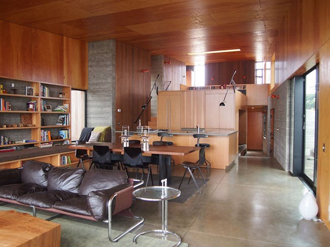 Norman Millar's Sea Ranch house, designed with Judith Sheine. Image: University of Oregon.