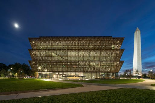 The Smithsonian National Museum of African American History and Culture, designed by Adjaye Associates in collaboration with The Freelon Group, Davis Brody Bond, SmithGroupJJR, was recently crowned as Beazley Design of the Year by London's Design Museum.