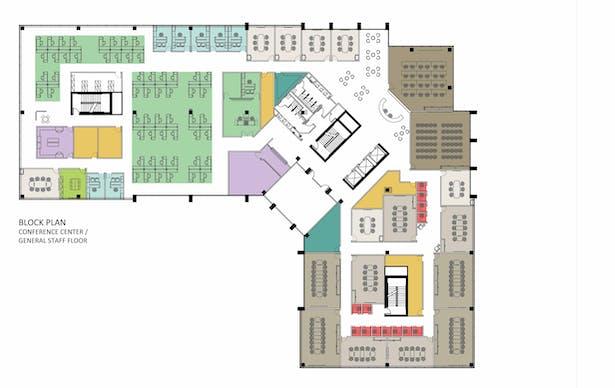 Conference Floorplate