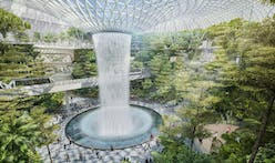 Moshe Safdie discusses the donut-shaped Jewel addition to the Changi Airport in Singapore