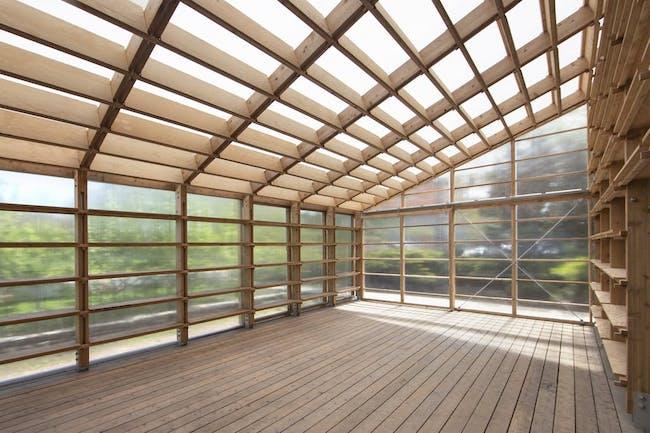 Interior space of Sticks II. Image © Hou de Sousa