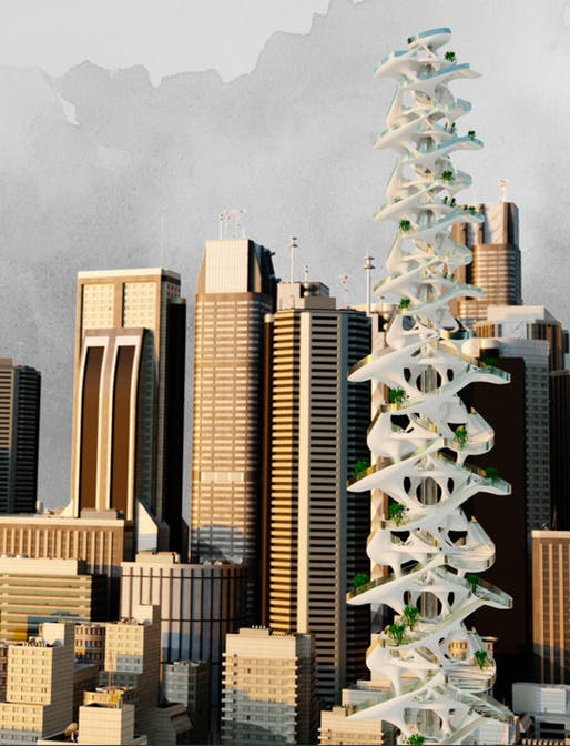 CTBUH 2020 Student Competition 1st Place: A Critical Approach to Vertical Graveyards
