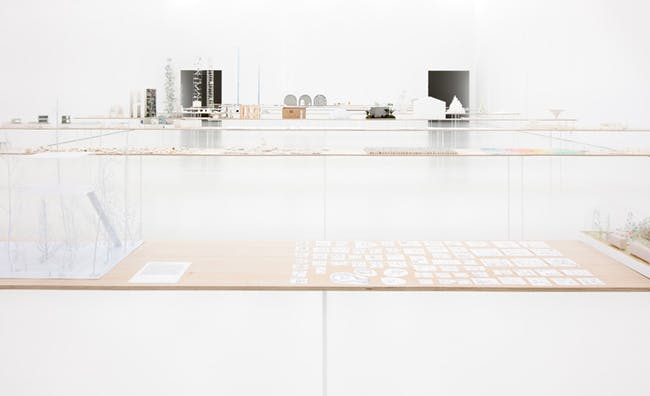 'Junya Ishigami: How Small? How Vast? How Architecture Grows' showcases over 50 models of the Japanese architect's work (Image via wallpaper.com)