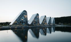 After 11 years, Henning Larsen's award-winning the Wave project finally completes