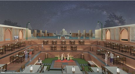 Competition : Resort, Agra