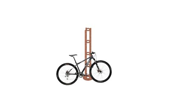 Bike Pasture Hitching Post