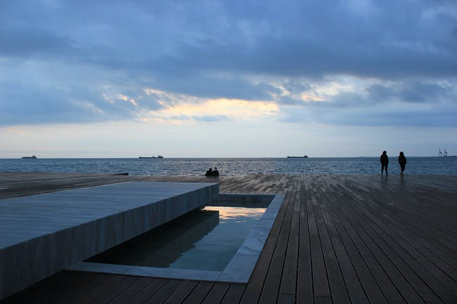 Redevelopment of the New Waterfront in Thessaloniki in Thessaloniki / Greece by Nikiforidis-Cuomo Architects. Photo: Prodromos Nikiforidis