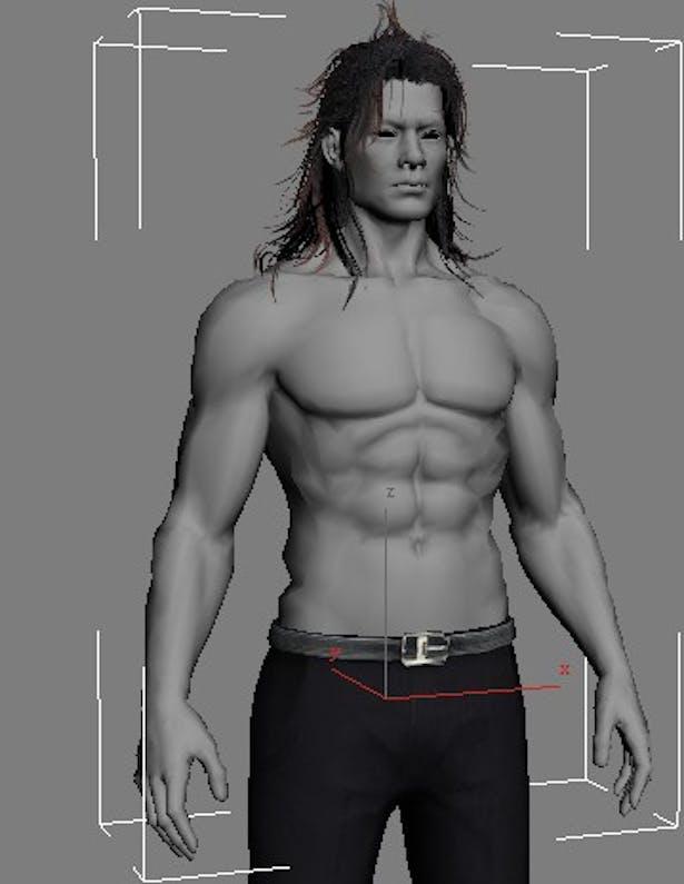 Human Male Character