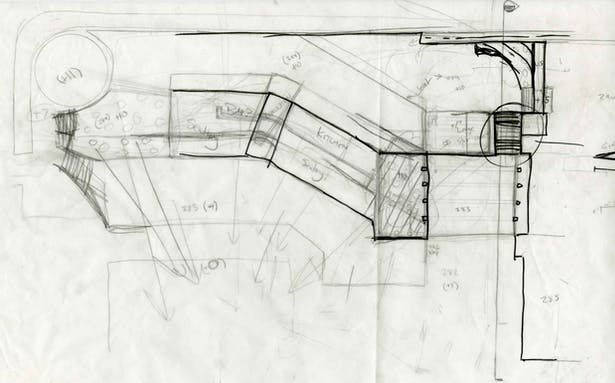 Rough sketch of possible layout