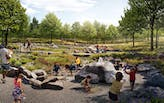 """Interboro Partners, H3 Studio among designers of 17-acre """"Nature Playscape"""" for Forest Park, St. Louis"""