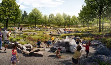 "Interboro Partners, H3 Studio among designers of 17-acre ""Nature Playscape"" for Forest Park, St. Louis"
