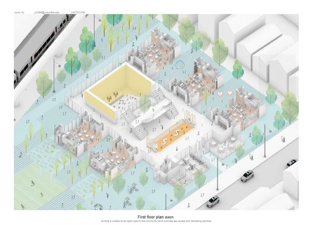 Montessori Kindergarten | Junru Xu | Archinect on map of travel, map of library, map of my property line, map of northern michigan, map of bedroom, map of your house, map to the house, map of ikea, map of my street, map of shopping, map of a house, map of bridges, map of hawaii, map of my friends, map of my place, map of london, map of animals, map of colorado,
