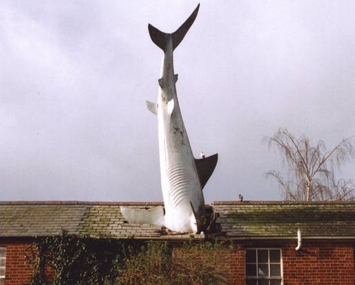 Headington Shark, Oxford, England.