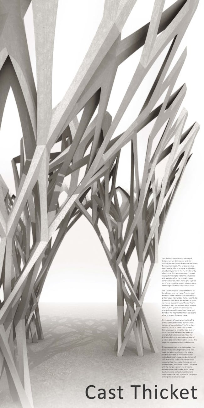 Final board of CAST THICKET by Christine Yogiaman and Ken Tracy