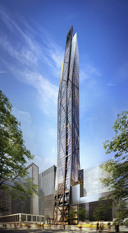 Rendering of 53W53. Image: VUW Studio