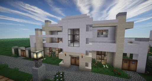 Home created in Minecraft