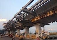 Design of Elevated Viaduct- Hyderabad Metro Rail Project (HMRL)