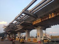 ​Design of Elevated Viaduct- Hyderabad Metro Rail Project (HMRL)