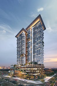 Megah Rise Mixed-use Residential + Retail