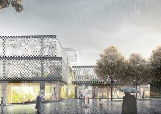 2nd prize: BURØ/architects. Architects: Anton Oliinyk, Oleksii Pakhomov / Kyiv, Ukraine.