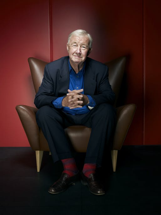 Sir Terence Conran. 1931 - 2020. Courtesy of the Design Museum.