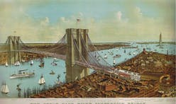 A design competition to help redesign New York's Brooklyn Bridge promotes creativity and digital collaboration!