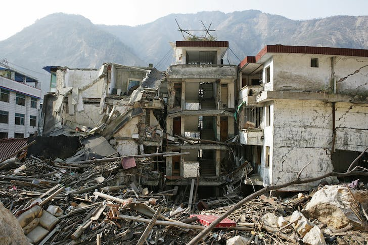 Sichuan Province after 2008 earthquake. China. Photo: © Wu Zhiyi / World Bank