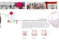 Temporary design intervention: 'Move-the-HUTT'