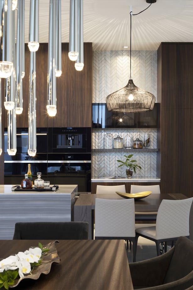 Luxe Waterfront Condo by DKOR Interiors